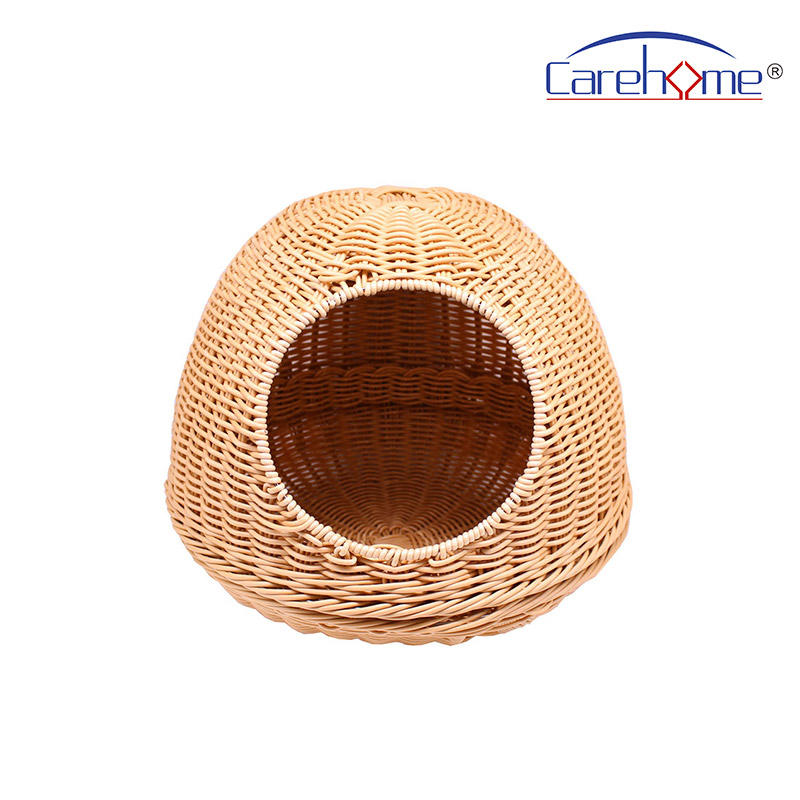 P-001 mothproof and washable lovely pet house of hand weaving baskets for cats