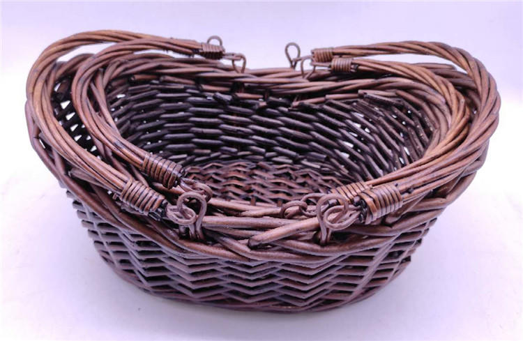 product-Carehome-wicker gift basket oval baskets wholesale with handle-img-2