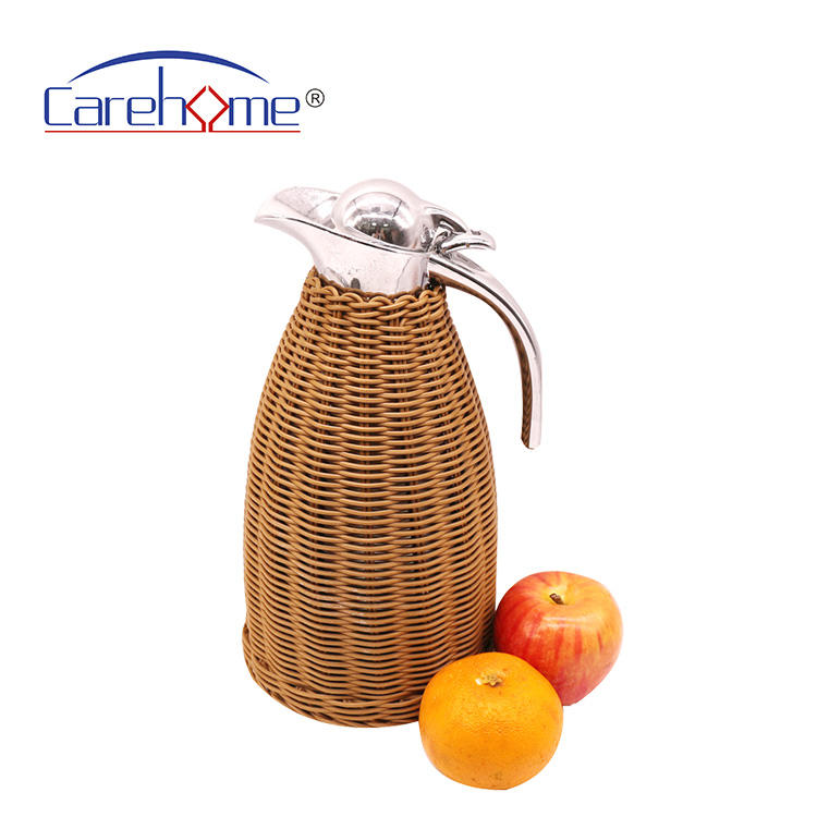 rattan kettle eco friendly handmade woven for hotel home