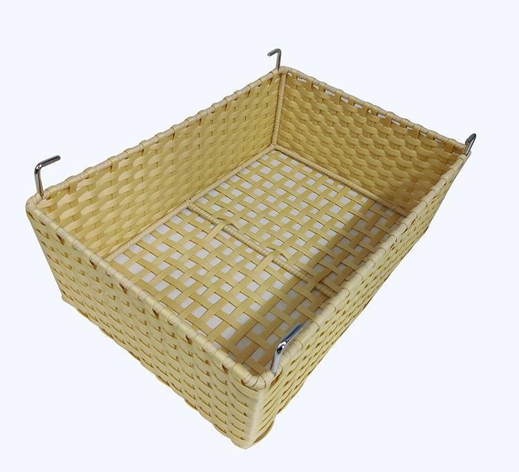 cloth wardrobe basket metal garment rotating cloth basket wardrob accessor