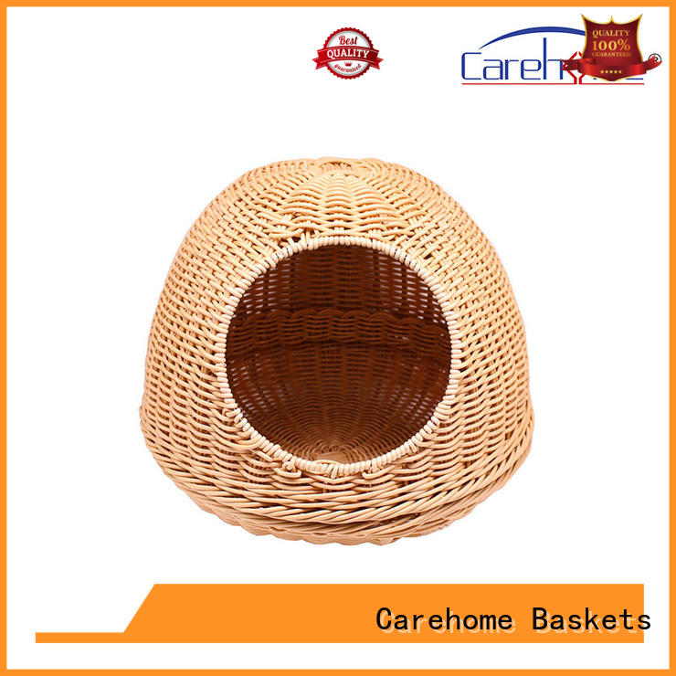 Carehome hand pet basket bed with high quality for market