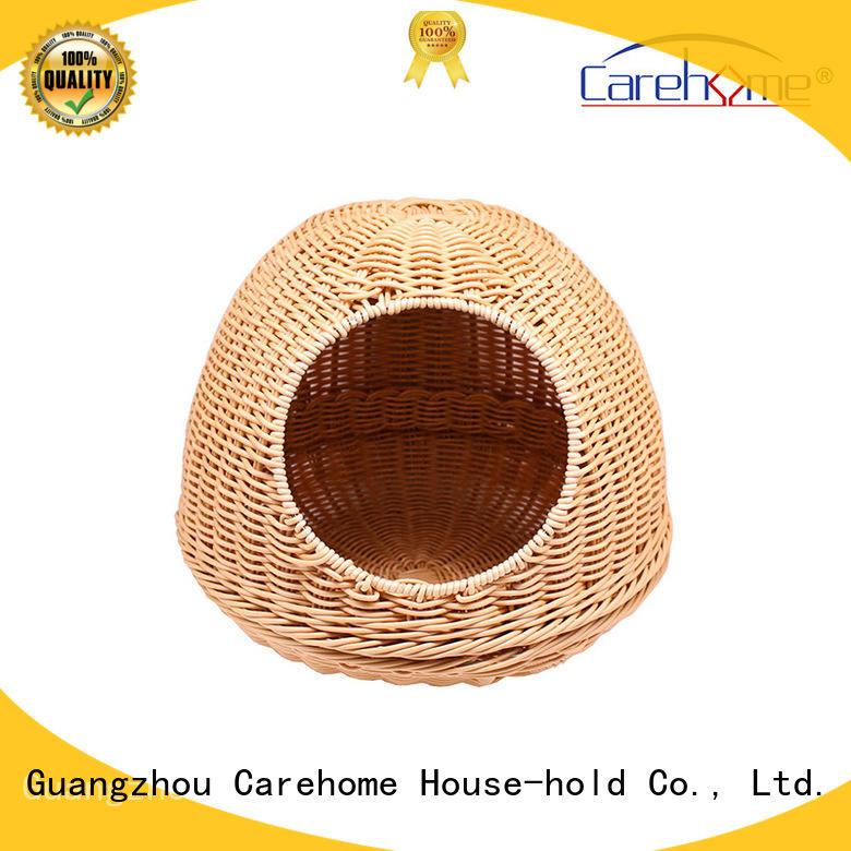 Carehome mothproof pet basket bed supplier for supermarket