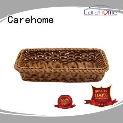 BL-1001 wholesale food-contact safety PP rattan bakery basket, handcraft plastic basket
