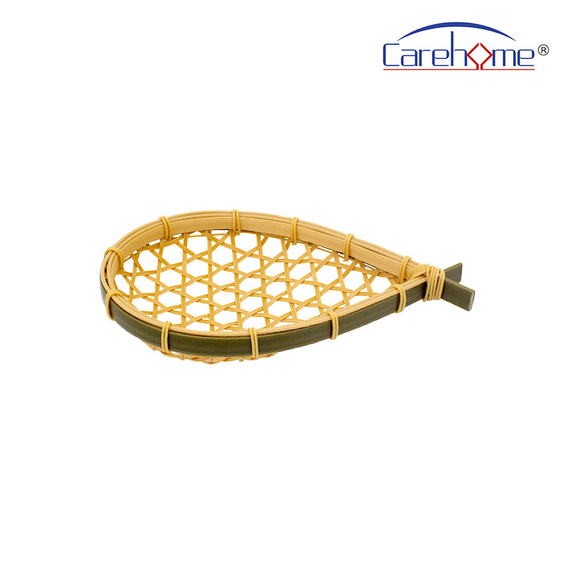 Carehome graceful woven bamboo basket easy to clean for shop-1