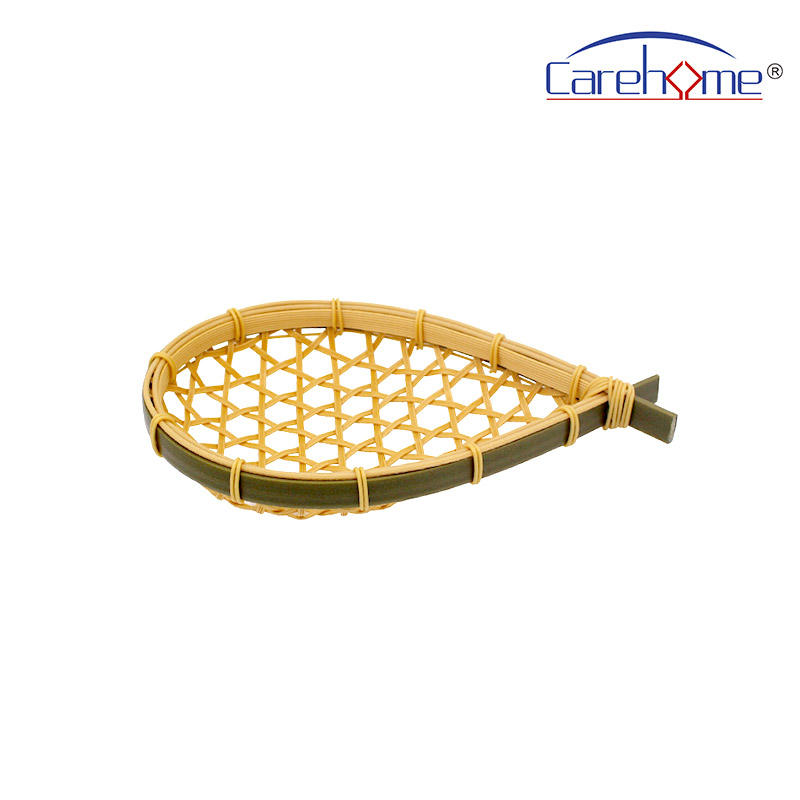 W-002 washable PP bamboo basket with food-class & eco-friendly material,  handcraft plastic basket, fingerling basket