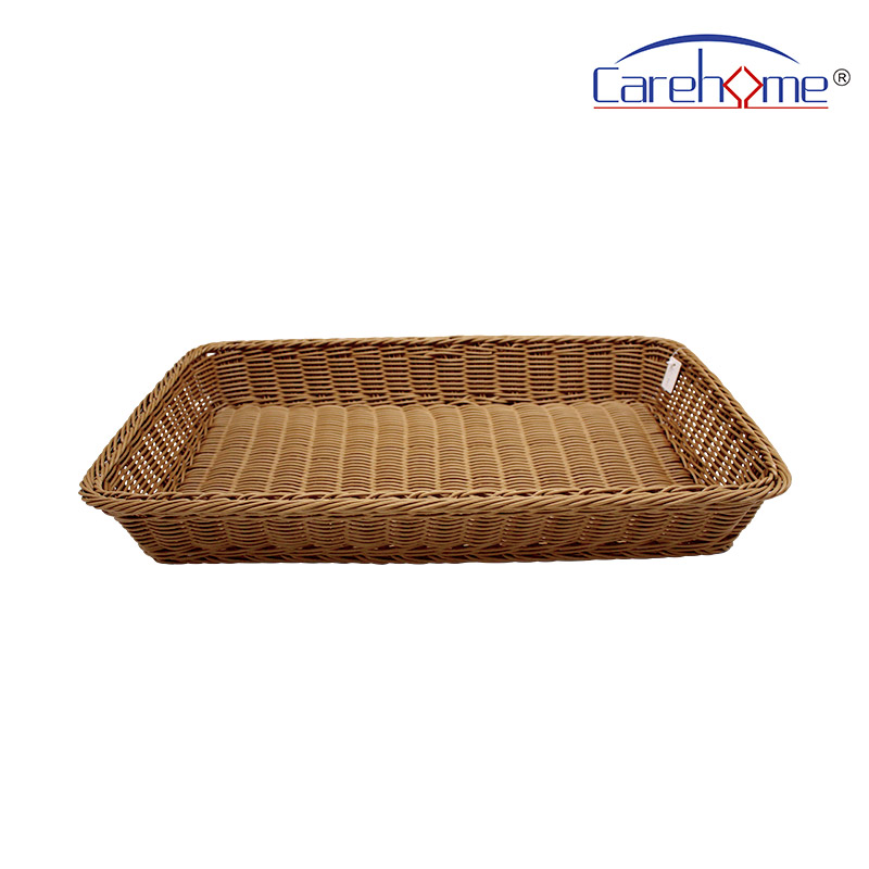 microwave safety wicker bread basket bl1015 with high quality for shop-2