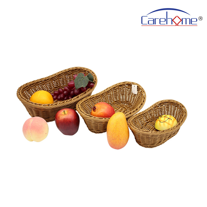 Carehome highquality wooden bread basket supplier for shop-Wicker Basket, Rattan Basket, Poly Rattan