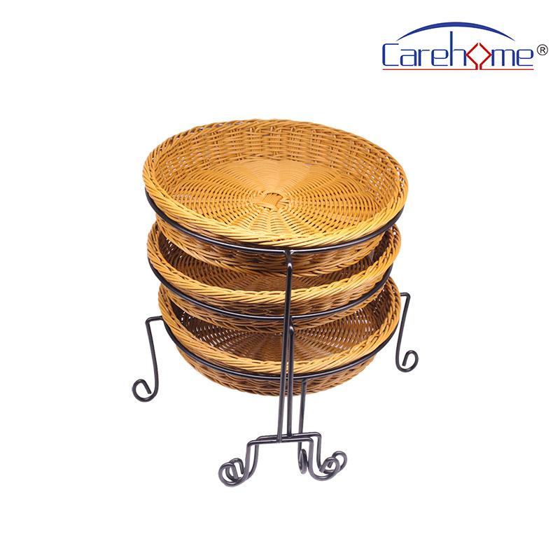 Carehome lb1024 wicker storage baskets for shelves manufacturer for supermarket-1