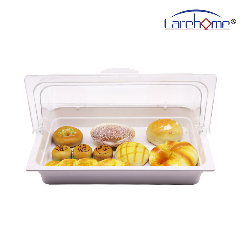 TS-1012 CAREHOME polycarbonate food cover with food basin-Carehome-img