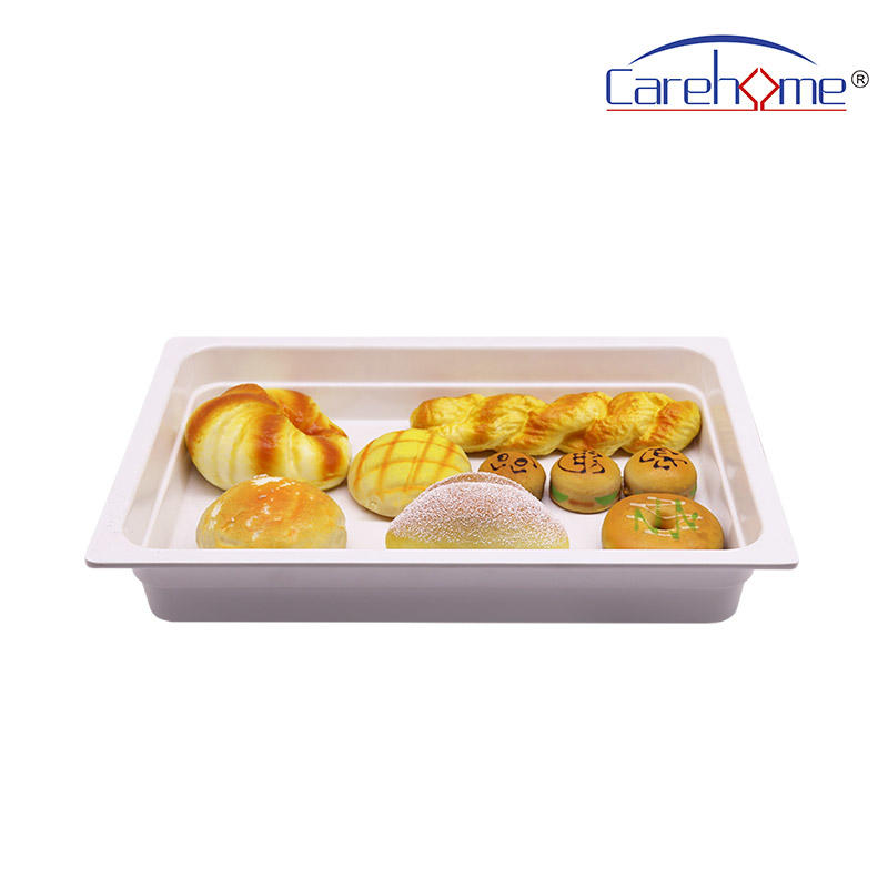 TS-1012 CAREHOME polycarbonate food cover with food basin