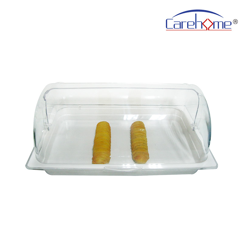 plastic rattan bread basket weave with high quality for market-2