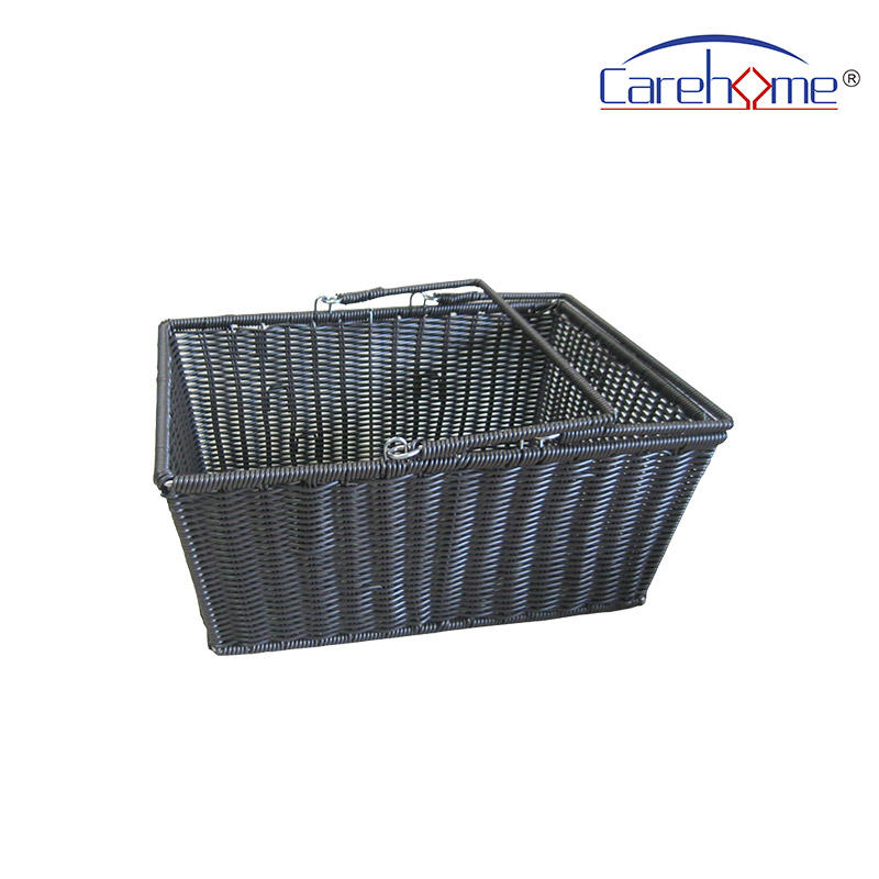 BLt-1021 wholesale food-contact safety PP rattan bakery basket, handcraft plastic basket