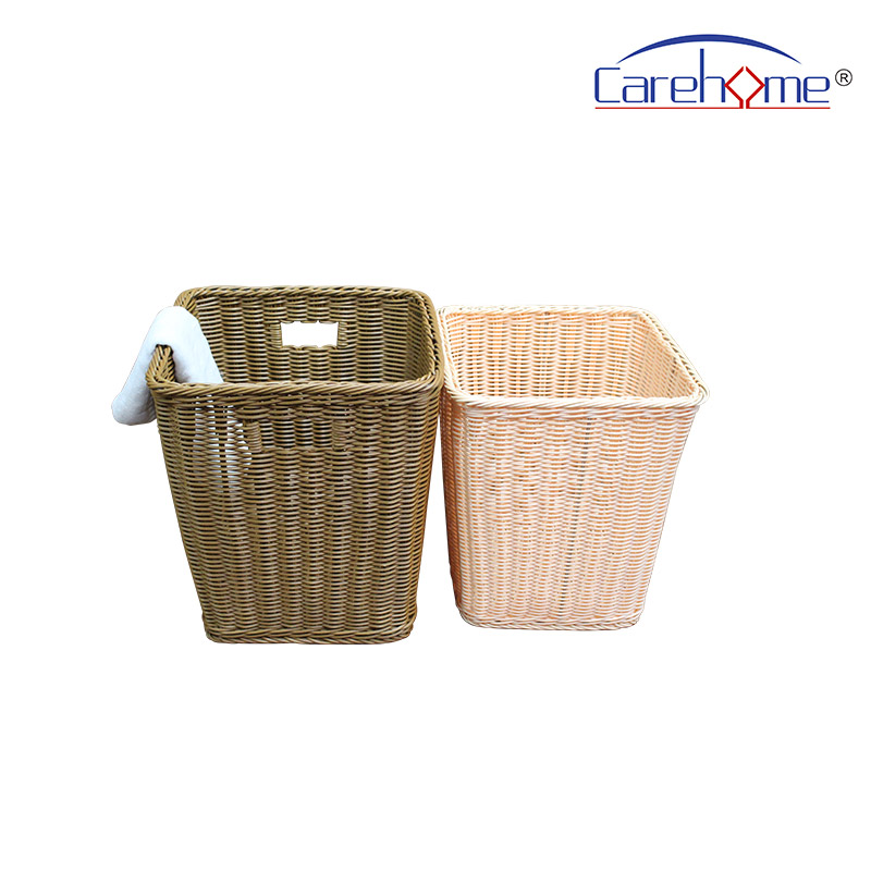 mothproof wicker laundry basket handle manufacturer for sale-1