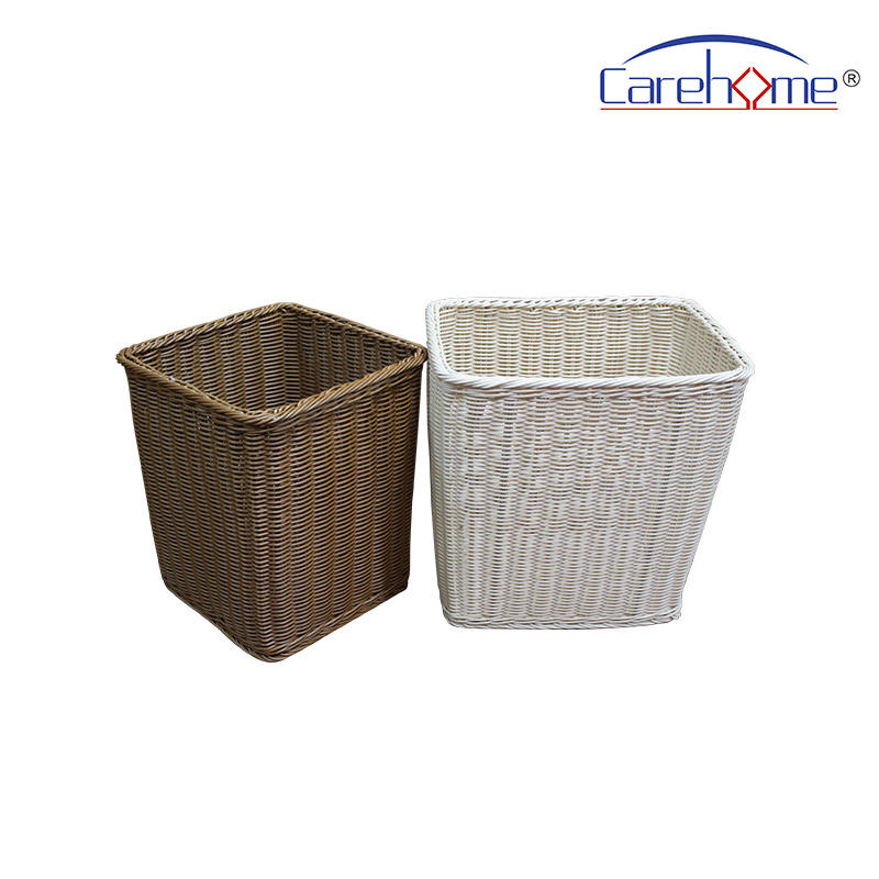 BL-1032 CAREHOME hand weaved graceful pp rattan basket for laundry