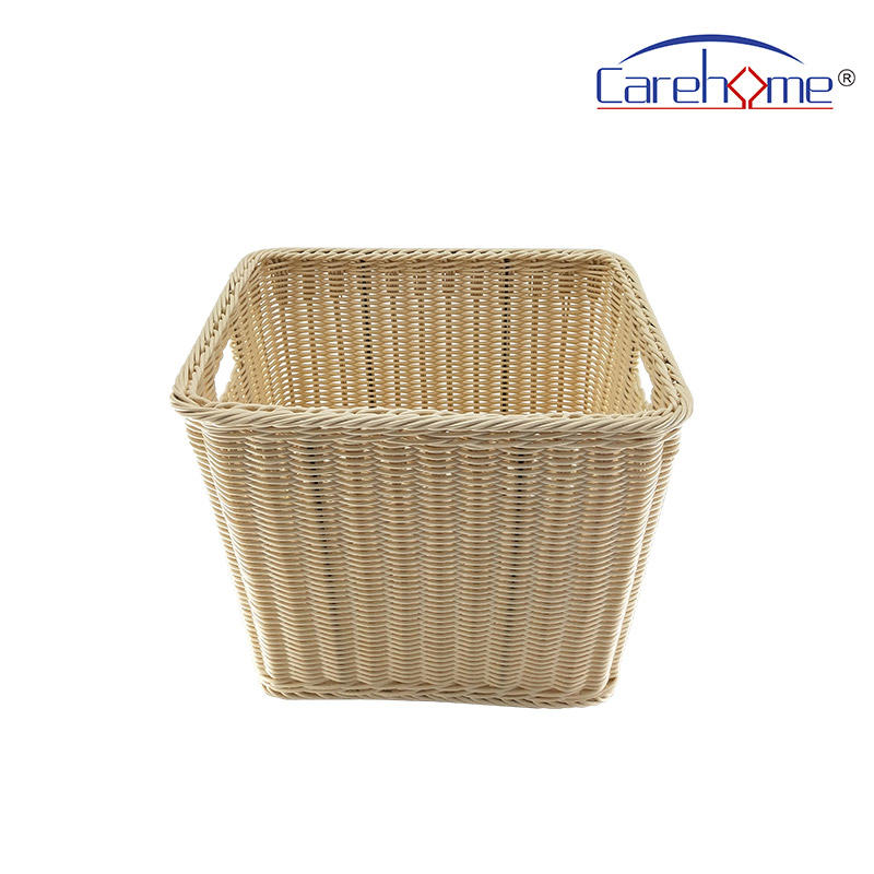 BL-1040 CAREHOME  Durable handmade rattan towel basket for bathroom
