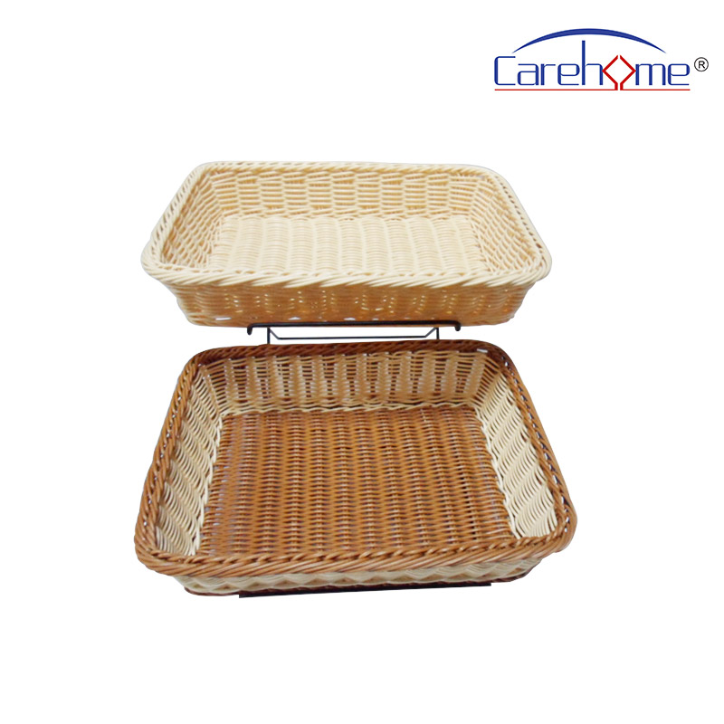 Carehome tot1023 wooden bread basket with high quality for supermarket-1