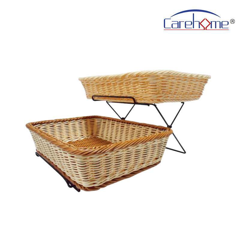 Carehome tot1023 wooden bread basket with high quality for supermarket-2