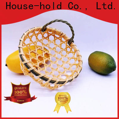 Carehome online bamboo basket weaving ecofriendly for market