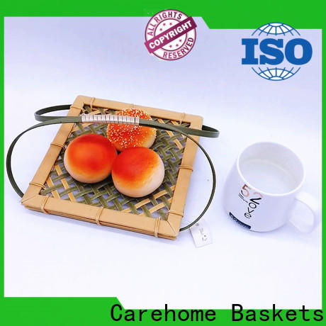 round square bamboo basket suitable for market