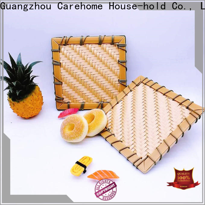 graceful big bamboo basket or easy to clean for supermarket