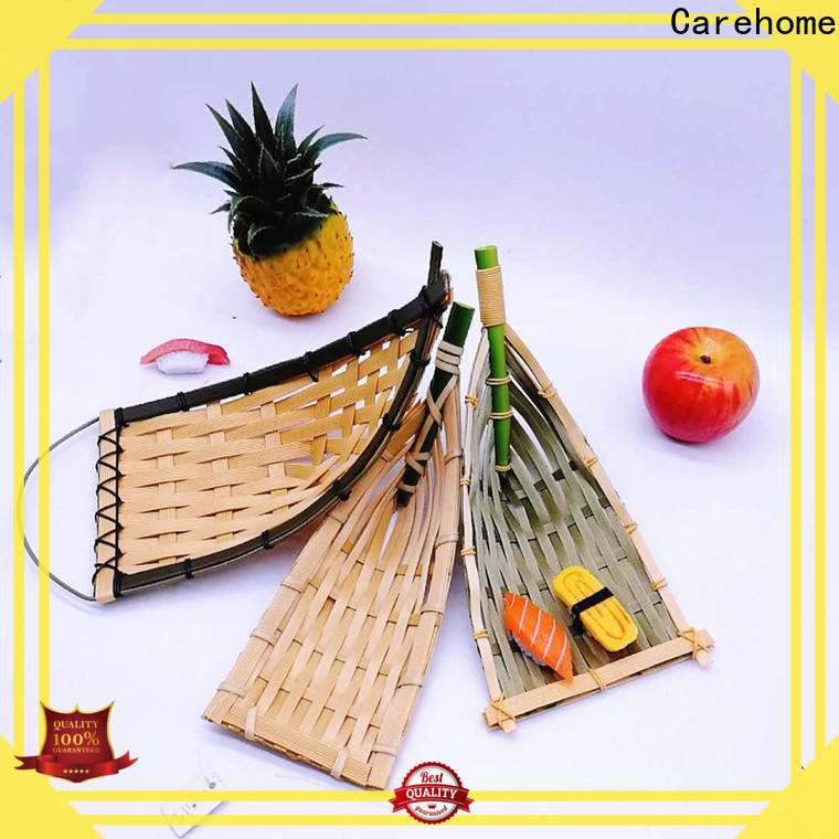 Carehome custom bamboo basket restaurant easy to clean for shop