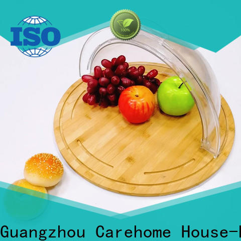 Carehome handmade wooden bread basket with high quality for supermarket