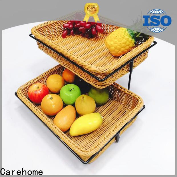 Carehome handicraft plastic bread basket manufacturer for shop