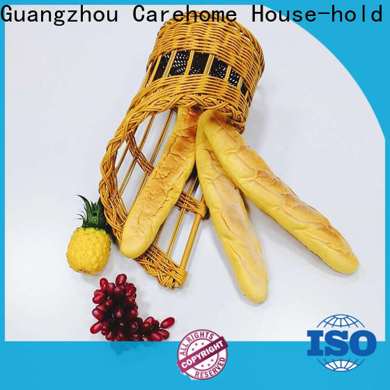 Carehome inch wicker bread basket with high quality for family