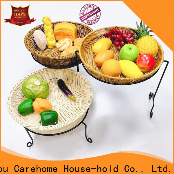 rattan bread basket cake with high quality for shop