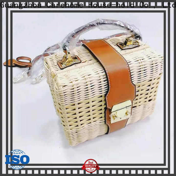 Carehome washable wicker gift baskets on sale for family