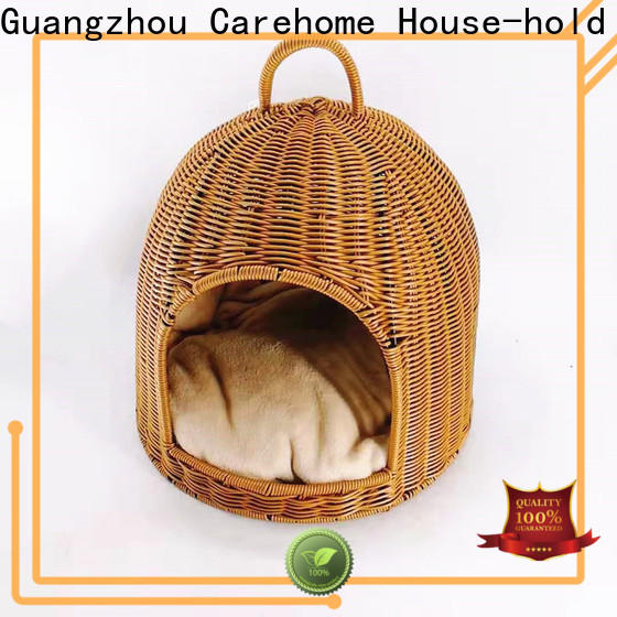 Carehome best pet basket bed with high quality for sale