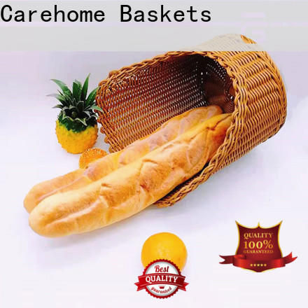Carehome graceful bamboo bread basket manufacturer for family