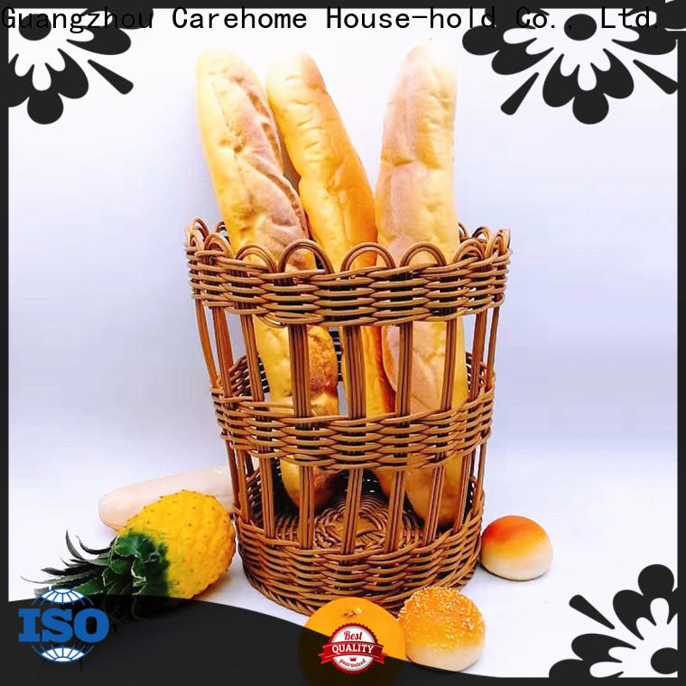 Carehome food rattan bread basket manufacturer for family