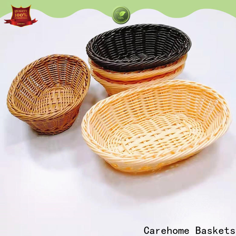 Carehome durable plastic bread basket manufacturer for family