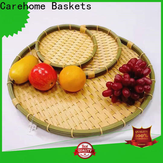 multifunctional bamboo basket menu using easy to clean for sale