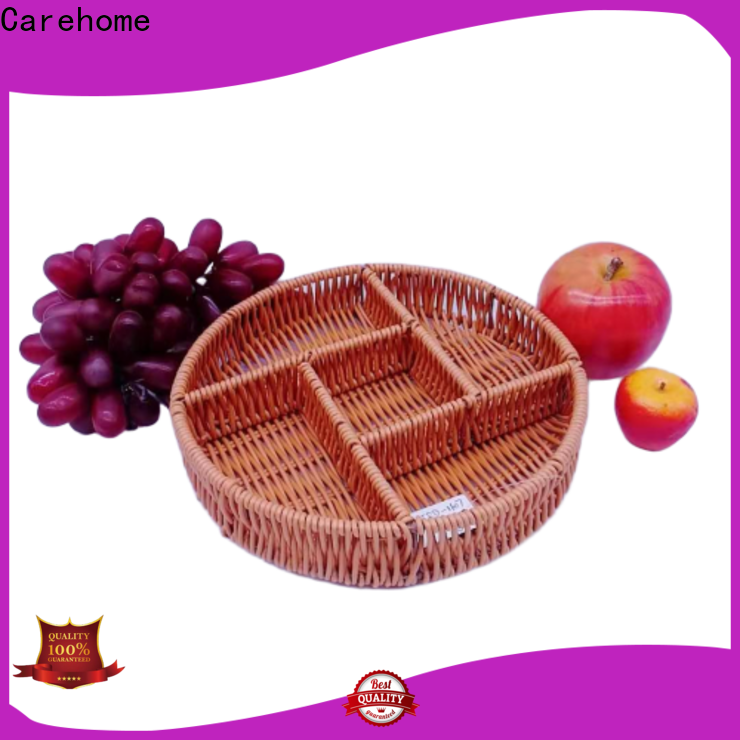 washable craft gift basket bamboo with high quality for supermarket