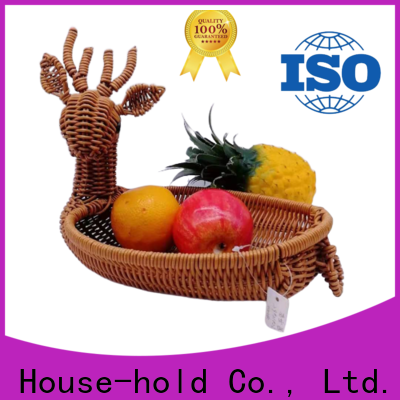 Carehome handwaving wicker gift baskets on sale for family
