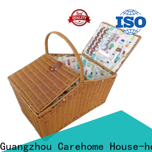 Carehome round grey hamper basket easy to clean for shop