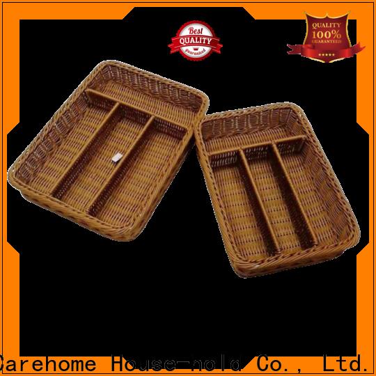 Carehome woven restaurant basket manufacturer for shop