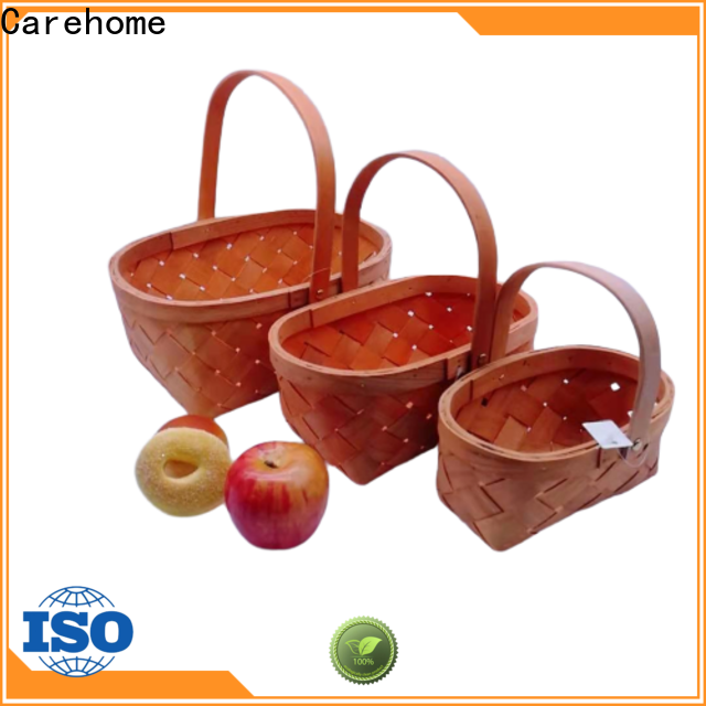 Carehome durable wicker gift baskets supplier for market