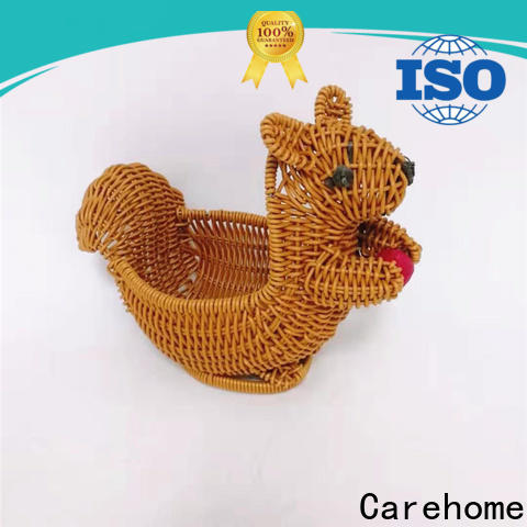 Carehome handwaving wicker gift baskets wholesale for family