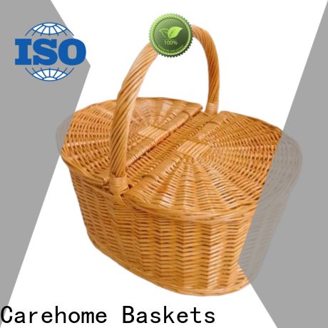 Carehome fruit empty hamper baskets easy to clean for supermarket