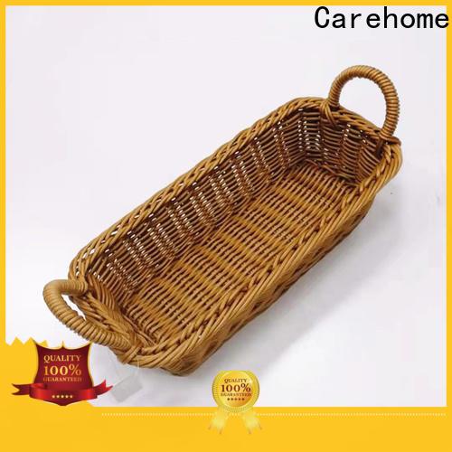 bamboo wicker baskets kitchen safety manufacturer for market