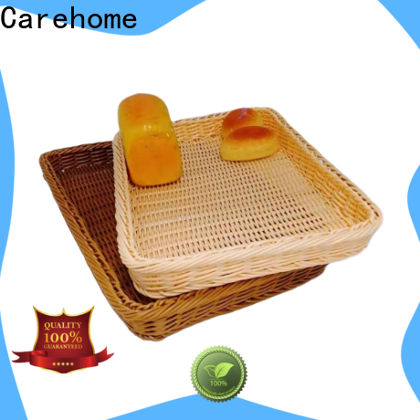 Carehome handicraft bamboo bread basket with high quality for supermarket