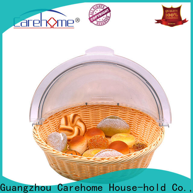 foldable rattan bread basket tl1035 with high quality for shop