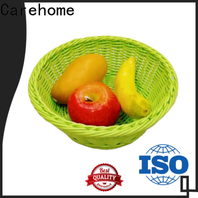 foldable wicker storage baskets for shelves tray wholesale for family