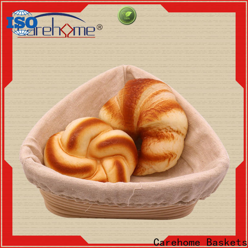 Carehome microwave safety wooden bread basket supplier for shop