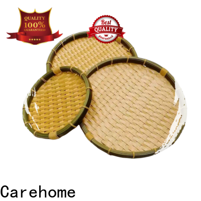 round bamboo basket boat life easy to clean for supermarket