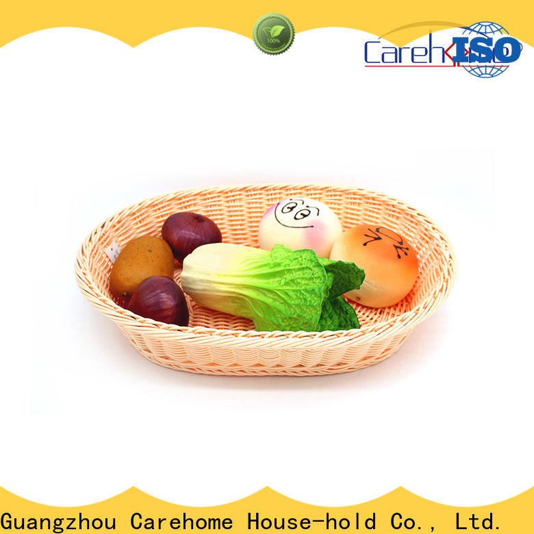 Carehome tray wooden bread basket with high quality for market