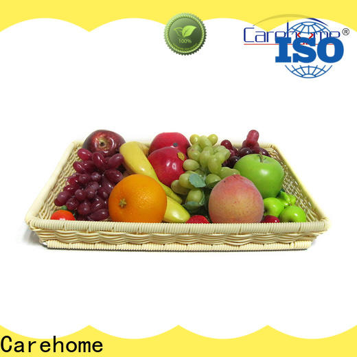 Carehome plastic bread basket with high quality for supermarket